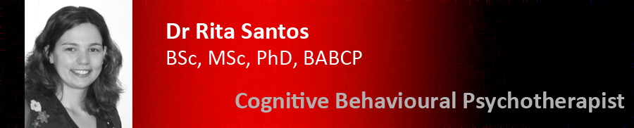 Rita Santos - London Cognitive Behaviour Therapy (CBT) professional for anxiety, phobias, panic, social anxiety, agoraphobia